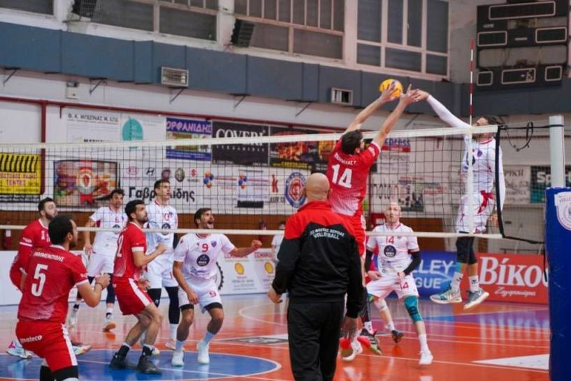 Volley League. Βελτιωμένος ο Φίλιππος ηττήθηκε 1-3 από τον Φοίνικα