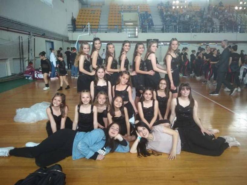 Στην 3η  θέση στην Θεσσαλονίκη η ομάδα Μοντέρνου Χορού του Φιλίππου