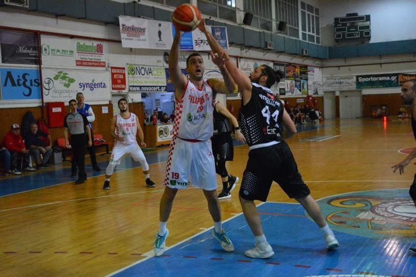 A2 Μπάσκετ. Μεγάλη νίκη του Φιλίππου 82-80 τον Απόλλων Πάτρας μετά από δύο παρατάσεις (64-64 και 71-71)
