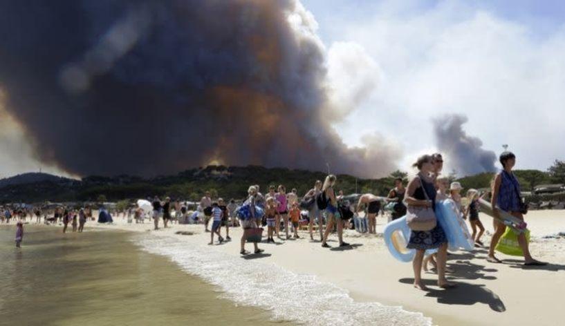 Κλιματική αλλαγή: Η υπερθέρμανση ανάβει φωτιές στην Μεσόγειο