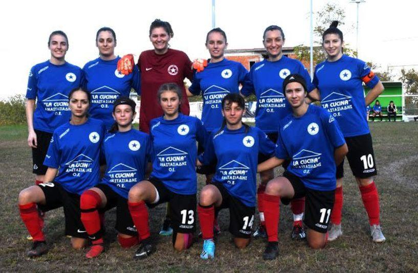 Β' Εθνική γυναικείο ποδόσφαιρο. Νέες Τρικάλων  - Αγρ. Αστέρας διαιτητής Κουτρουμάνος (Καρδίτσας )