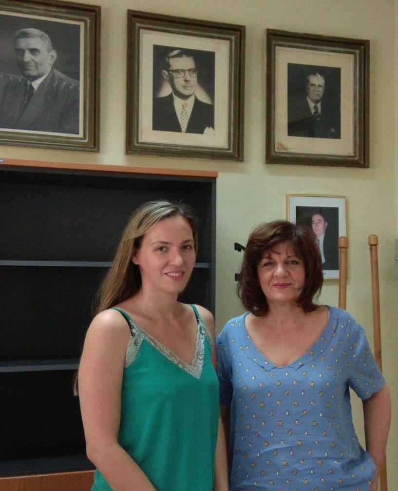 Επίσκεψη της Φρόσως  Καρασαρλίδου στο Νοσοκομείο Νάουσας και δηλώσεις  για τον αξονικό τομογράφο