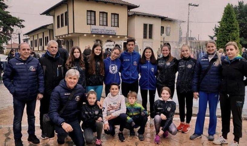 Επιδόσεις της ΓΕ Νάουσας στην Μελίκη στον αγώνα