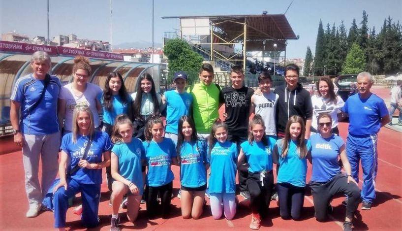 Πολύ καλές  εμφανίσεις της ΓΕ Νάουσας σε αγώνες στίβου στα Γιαννιτσά