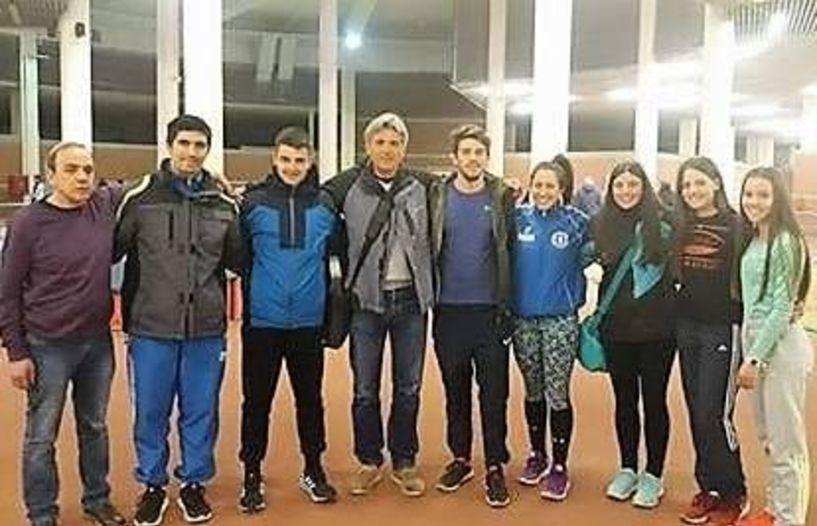 Πολύ καλές επιδόσεις της ΓΕ Νάουσας σε αγώνες κλειστού στίβου στην Θεσσαλονίκη