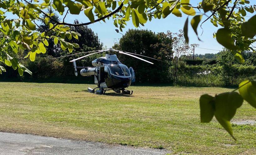 Με ιδιωτικό ελικόπτερο στη Νάουσα η Γιάννα Αγγελοπούλου-Δασκαλάκη