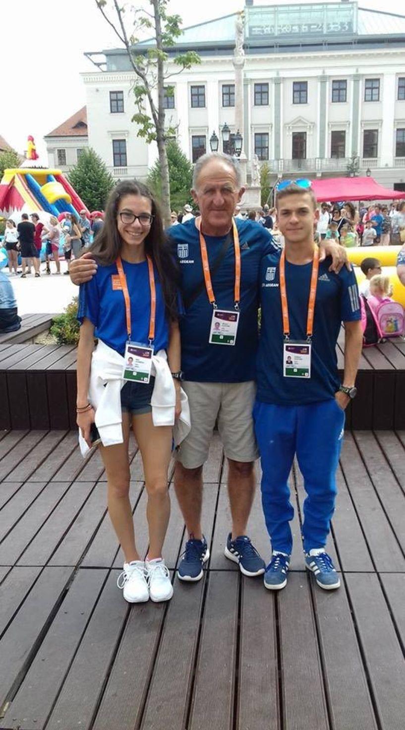 Στην Ολυμπιάδα Νέων στην Αργεντινή προκρίθηκαν Κελεπούρης και Ιωαννίδου