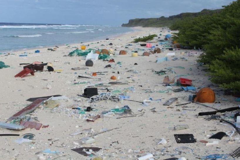 Νήσος Χέντερσον: Μια χωματερή στον Νότιο Ειρηνικό - Δείτε το βίντεο