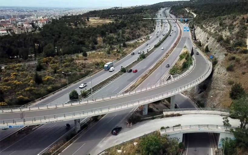 Θεσσαλονίκη: Η μεγαλύτερη εναέρια οδός στην Ελλάδα! - Δείτε το βίντεο