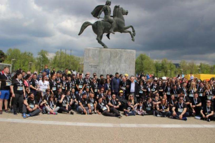 Κάλεσμα της Ευξείνου Λέσχης Βέροιας για συμμετοχή στην ομάδα δρόμου της Παμποντιακής Ομοσπονδίας Ελλάδος, στον Διεθνή Μαραθώνιο «Μέγας Αλέξανδρος»