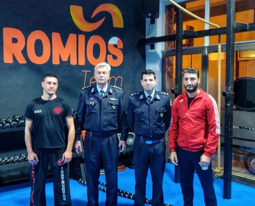 Ενημερώθηκαν οι αθλητές του ΑΣ Ρωμιός για τις υποχρεώσεις τους προς τα αστυνομικά όργανα