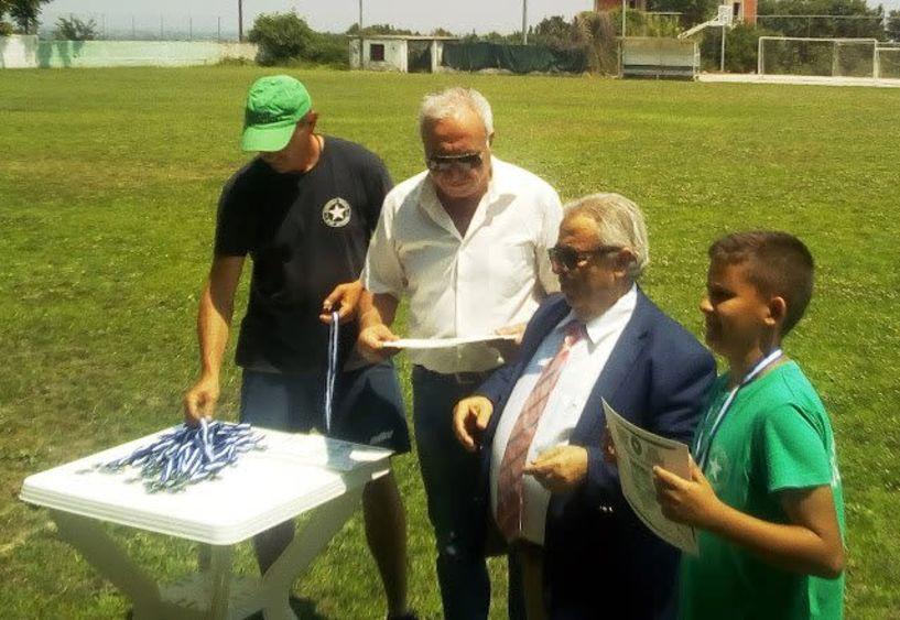 Γιορτή λήξης  των τμημάτων υποδομής του Αγρ. Αστέρα Αγ. Βαρβάρας