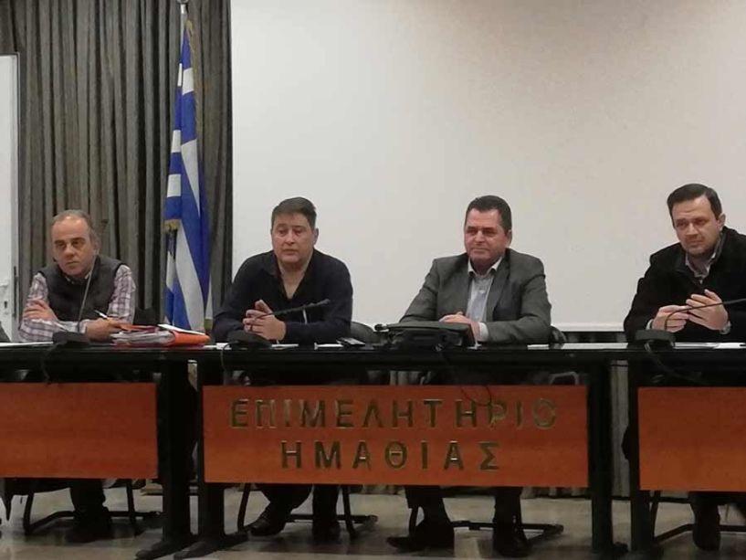 Κώστας Καλαϊτζίδης: Συνεχίζουμε την αναπτυξιακή συνεργασία  με τους ΤΟΕΒ και τα έργα υποδομής για τους αγρότες της Ημαθίας