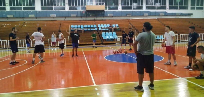 Γ' Εθνική μπάσκετ Εργομετρικά για τους αθλητές του ανδρικού τμήματος των Αετών Βέροιας