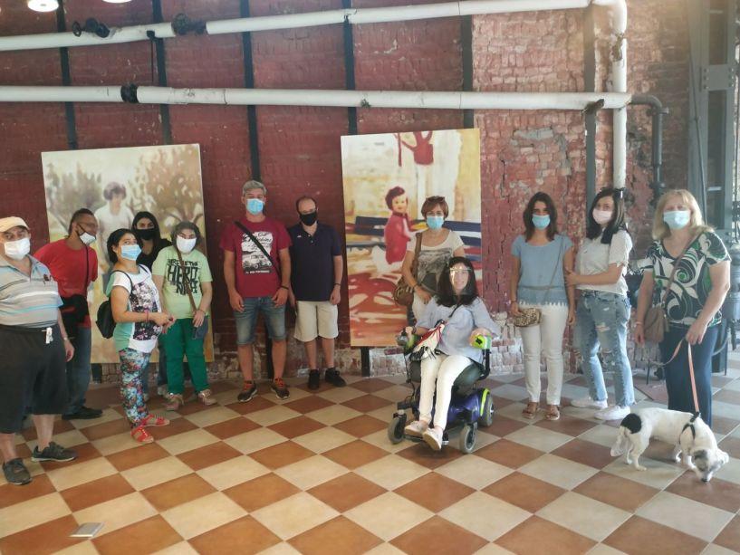Το ΥΦΑΔΙ επισκέφθηκε την έκθεση του Ναουσαίου καλλιτέχνη Αλέξανδρου Τσάκωνα