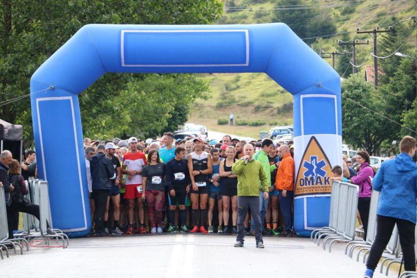 Με επιτυχία έγινε ο 9ος  αγώνας  ορεινού τρεξίματος στο Ξηρολιβάδου.