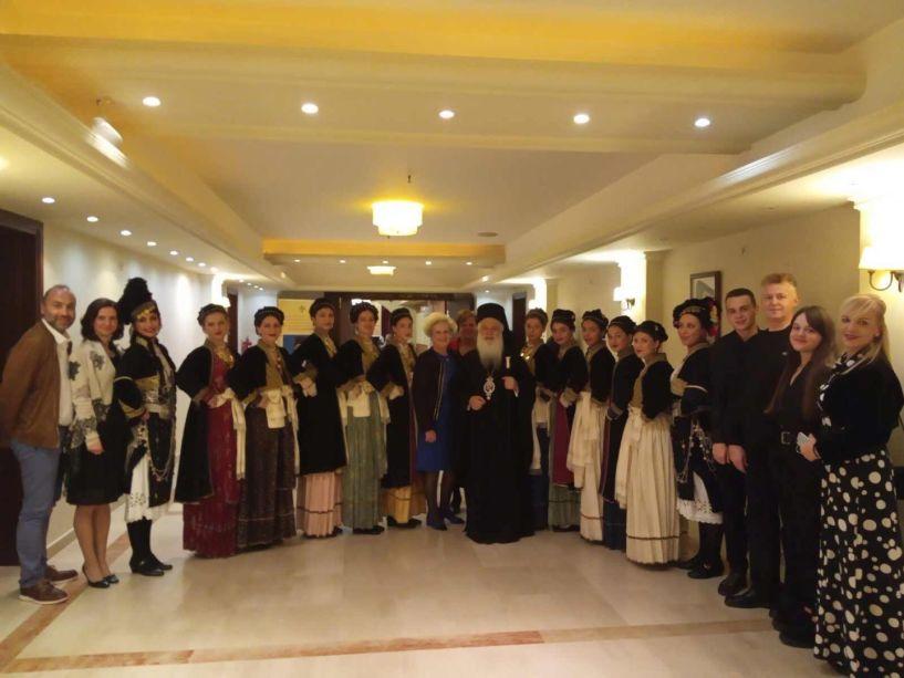 Εντυπωσίασε το Λύκειο Ελληνίδων Βέροιας στη επετειακή εκδήλωση του Αργυρού Ιωβηλαίου Αρχιερωσύνης και του Χρυσού Ιωβηλαίου Ιερωσύνης