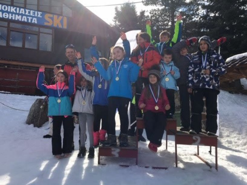 Οι διακρίσεις του ΕΟΣ Νάουσας στο Κύπελλο ski cross στο Σέλι