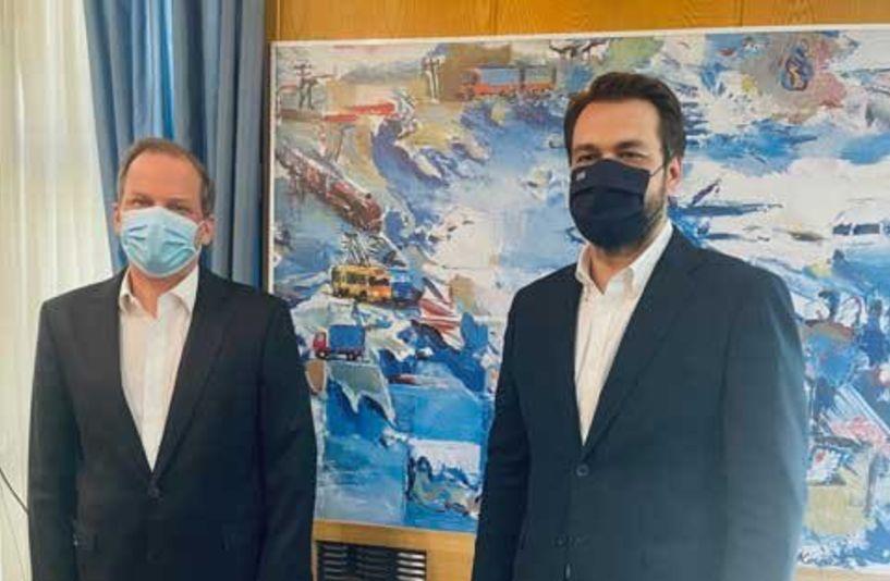 Καραμανλής προς Μπαρτζώκα: Ξεκινάει τέλος του 2021 το μεγάλο αρδευτικό έργο Βεργίνα-Μελίκη-Αιγίνιο!
