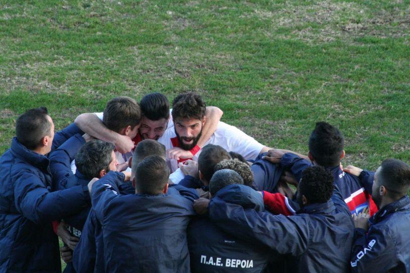 Νίκησε η Βέροια 1-0 την Καρδίτσα