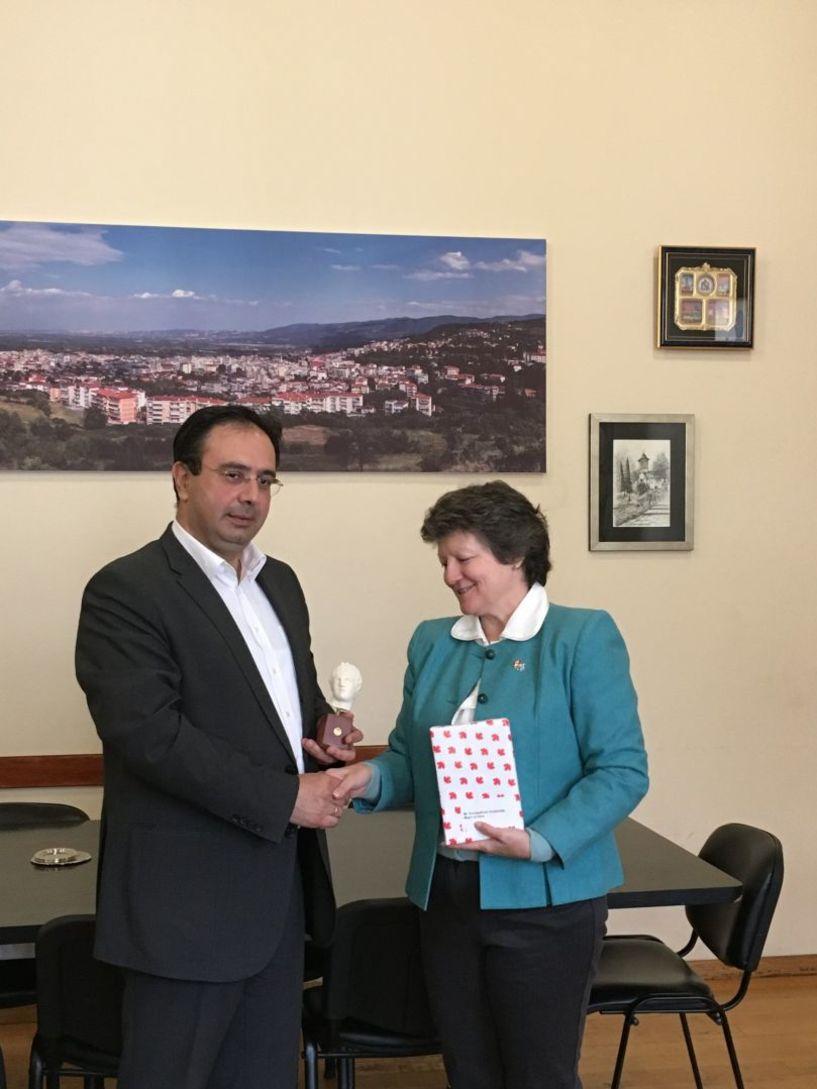 Με Σύμβουλο της Πρεσβείας του Καναδά συναντήθηκε  ο δήμαρχος Βέροιας