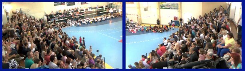 Αποχαιρετιστήρια εκδήλωση του 9ου Δημοτικού Σχολείου Βέροιας στο Φιλίππειο Γυμναστήριο