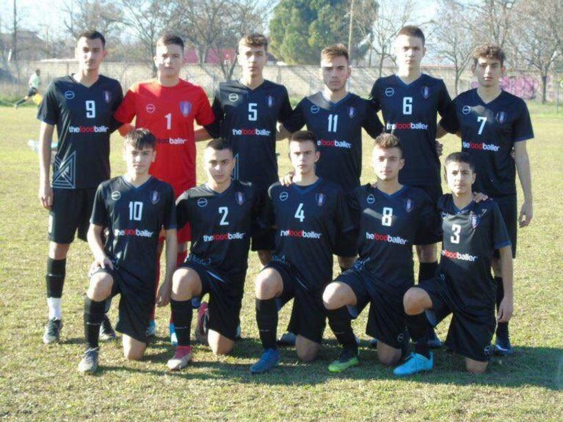 Πρωτάθλημα Νέων. Θεσπρωτός- ΝΠΣ Βέροια 2-2