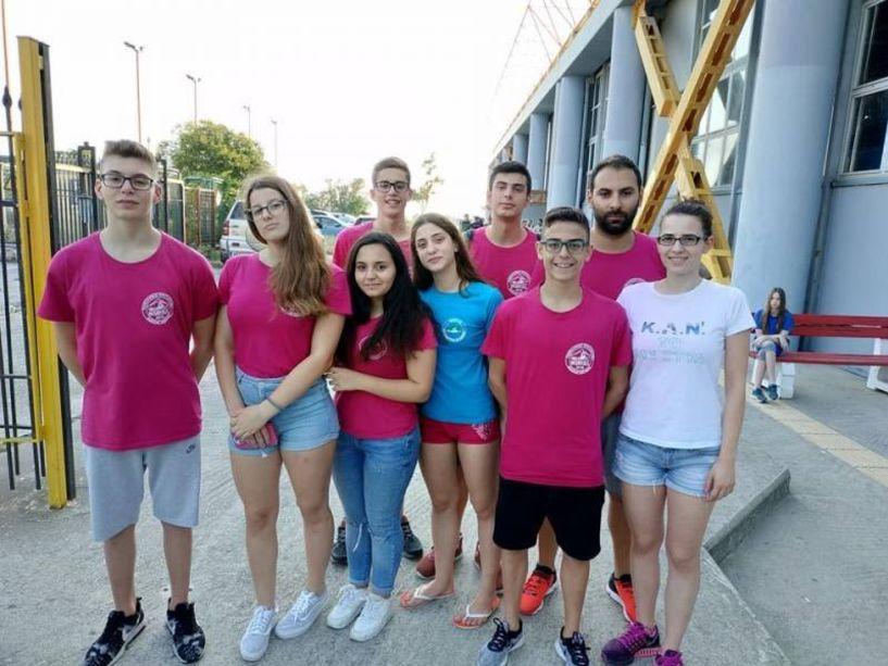 Η Κολυμβητική Ακαδημία  . «ΝΑΟΥΣΑ» στο Πανελλήνιο Πρωτάθλημα Π-Ε-Κ-Ν στη Θεσσαλονίκη