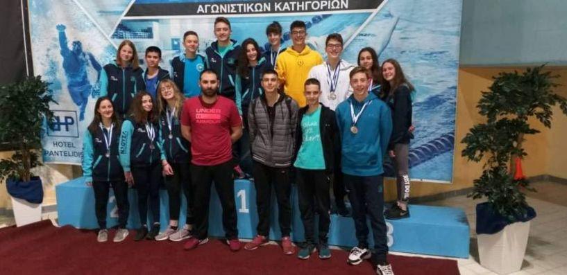 Επιδόσεις της Κολυμβητικής Ακαδημίας Νάουσας στην Πτολεμαΐδα