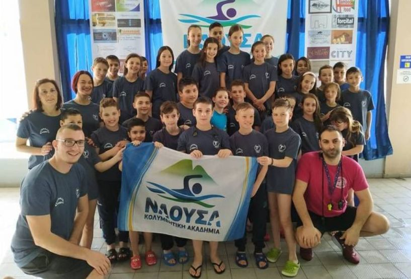 Οι επιδόσεις της ΚΑΝ στους κολυμβητικούς αγώνες