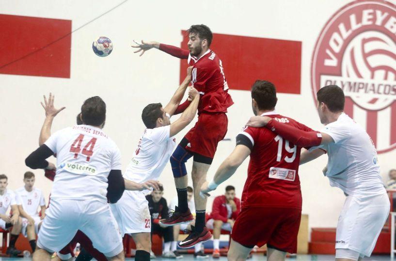 Handball Premier (20η αγωνιστική) Σάββατο στις 6 μ.μ Φίλιππος - Ολυμπαικός/Ξυνή