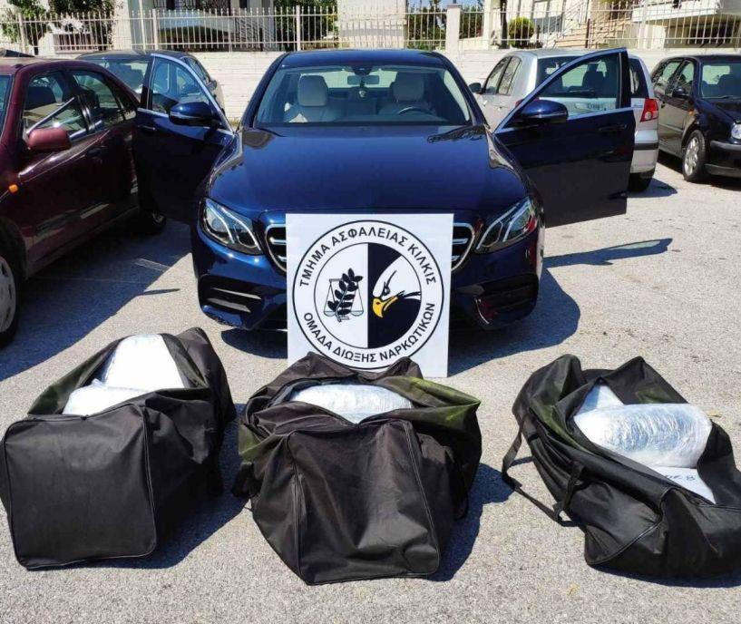 Μεγάλη επιτυχία της ΕΛΑΣ: Σύλληψη ημεδαπού με  47 κιλά κάνναβη! Βίντεο