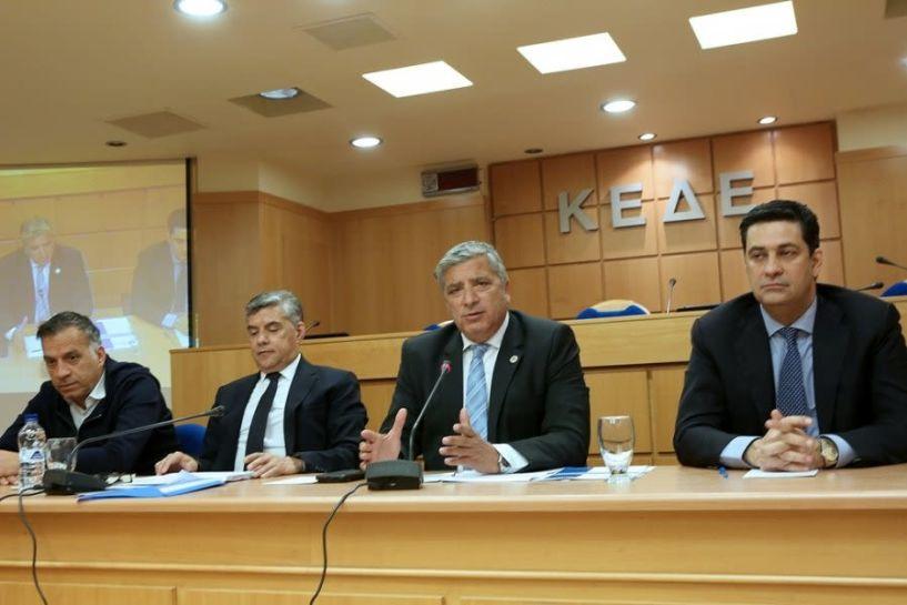Ιστορικής σημασίας το κοινό συνέδριο ΚΕΔΕ και ΕΝΠΕ εν όψει του νέου νομοσχεδίου για την Αυτοδιοίκηση