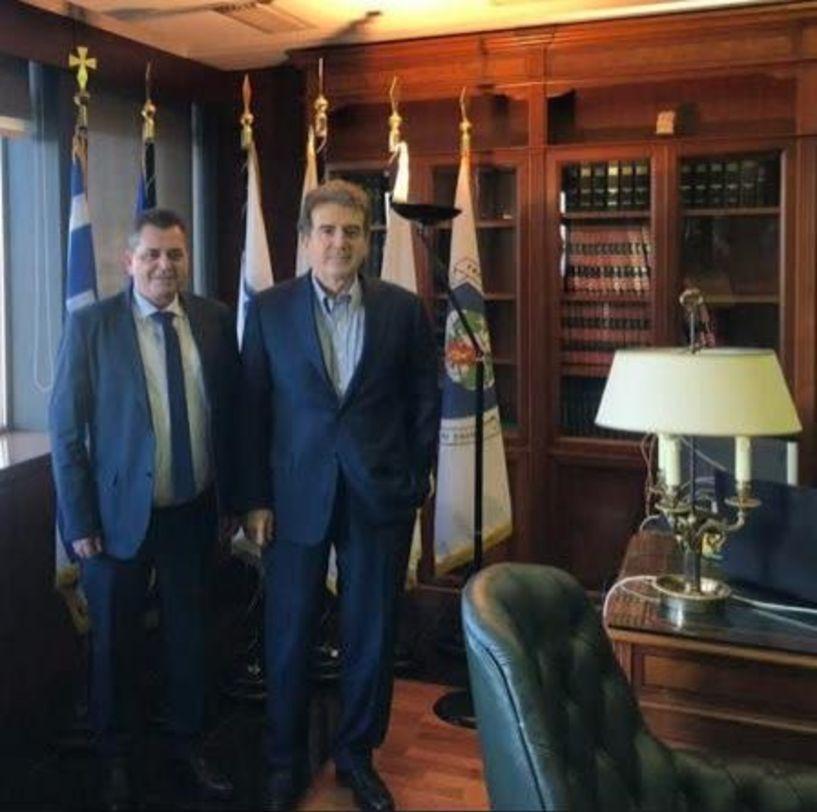 Στην Αθήνα ο Αντιπεριφερειάρχης Κ. Καλαϊτζίδης - Συναντήσεις εργασίας με υπουργούς και στελέχη από την Ημαθία