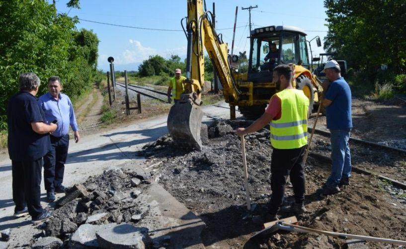 Κ. Καλαϊτζίδης: «Επισκευάσαμε τον περιφερειακό της Βέροιας  και συνεχίζουμε με έργα οδοποιίας σε όλη την Ημαθία»