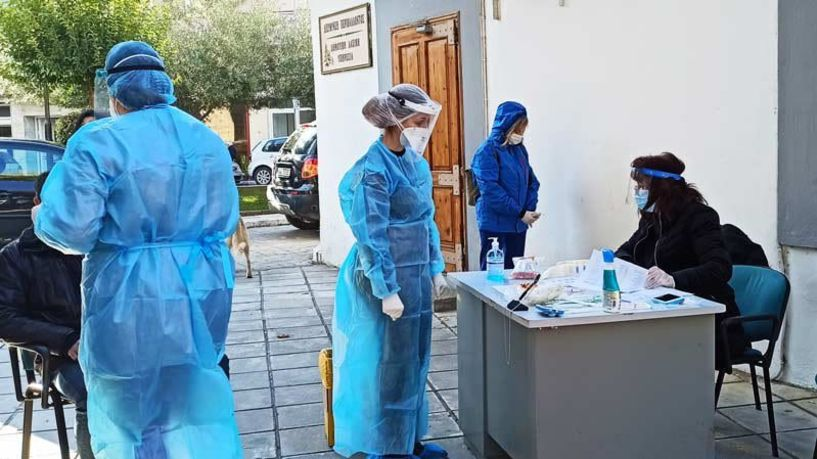 Δωρεάν rapid tests  την ερχόμενη εβδομάδα στη Νάουσα και σε Τοπικές Κοινότητες