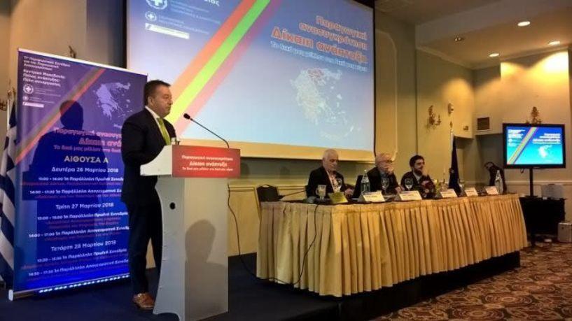 Τι είπε ο υφ. Αγροτικής Ανάπτυξης Β. Κόκκαλης για τον πρωτογενή τομέα στο 11ο Περιφερειακό Συνέδριο στη Θεσσαλονίκη