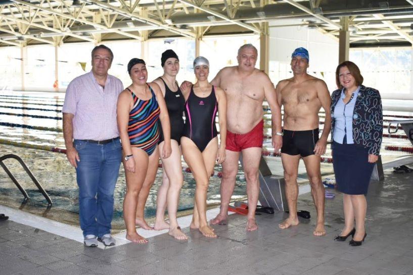 Βιωματικό σεμινάριο κολύμβησης από τη Δευτεροβάθμια Εκπαίδευση