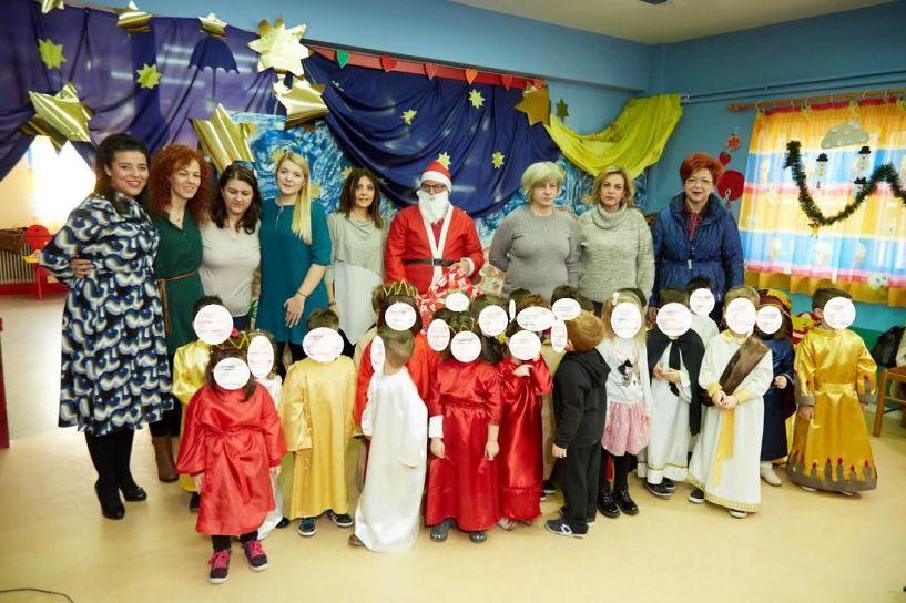 Χριστουγεννιάτικη γιορτή στον παιδικό Κοπανού