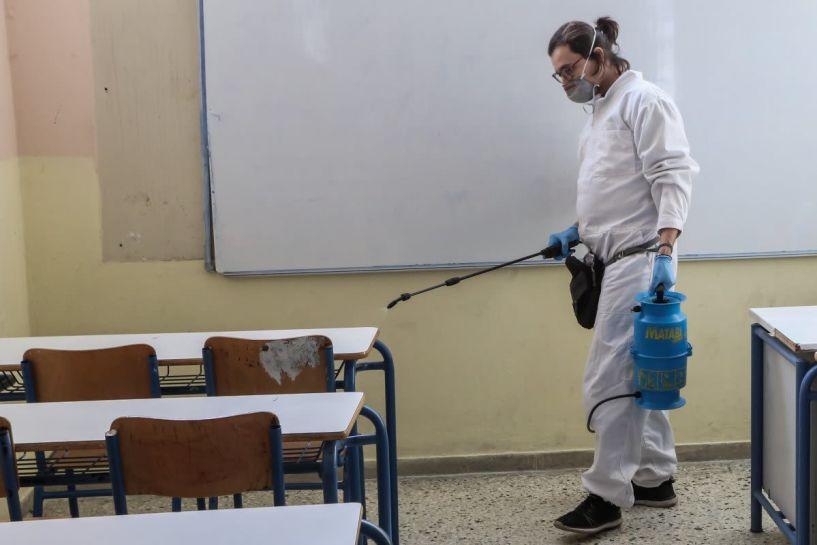 Κορωνοϊός: Δημιουργείται ομάδα διαχείρισης κρουσμάτων στα σχολεία - Τι θα γίνει αν εμφανιστεί ύποπτο κρούσμα σε σχολείο