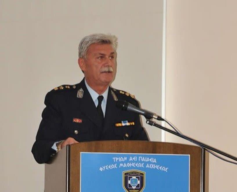 Προάγεται στο βαθμό του Ταξίαρχου και αποστρατεύεται ο Διευθυντής Αστυνομίας Ημαθίας Διονύσης Κούγκας