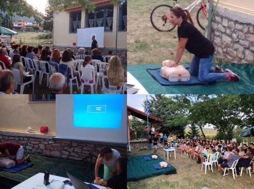 Ενημερωτική ομιλία στην Κουμαριά με θέμα: «Πρώτες Βοήθειες στην καθημερινότητα»