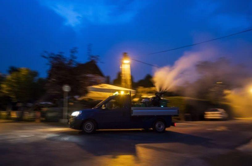 Έργο Αστικής Επίγειας Καταπολέμησης Κουνουπιών: Το Πρόγραμμα κίνησης συνεργείων από 24 έως και 28 Αυγούστου