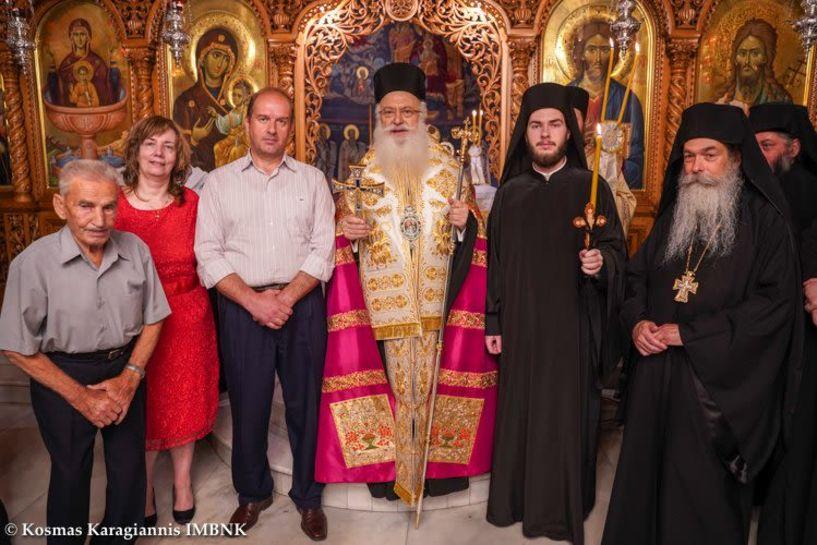 Κουρά Μοναχού στην Ιερά Μονή Παναγίας Δοβρά Βέροιας