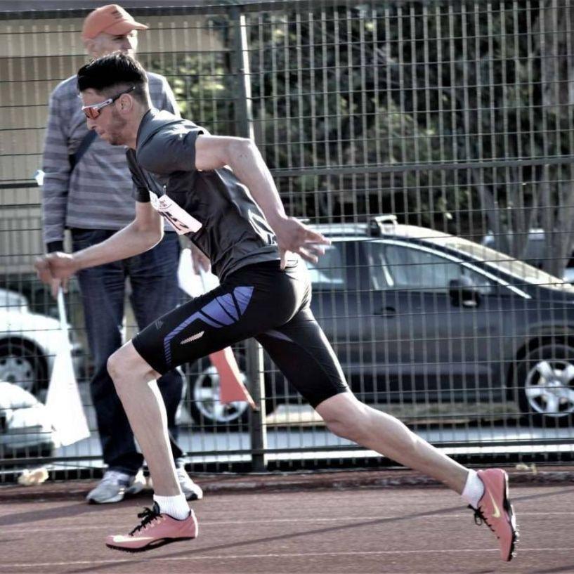 2ος ο Κώστας Κουτσούκης στα 400μ  στο Πανελλήνιο πρωτάθλημα