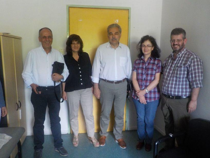 To Κέντρο Υγείας Αλεξάνδρειας επισκέφθηκαν οι βουλευτές Φρόσω  Καρασαρλίδου και Χρήστου Αντωνίου