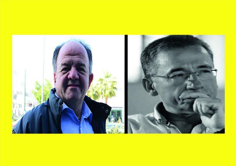 Στέργιος Κύρτσιος και Ισίδωρος Ζουργός μιλούν στη Σοφία Γκαγκούση