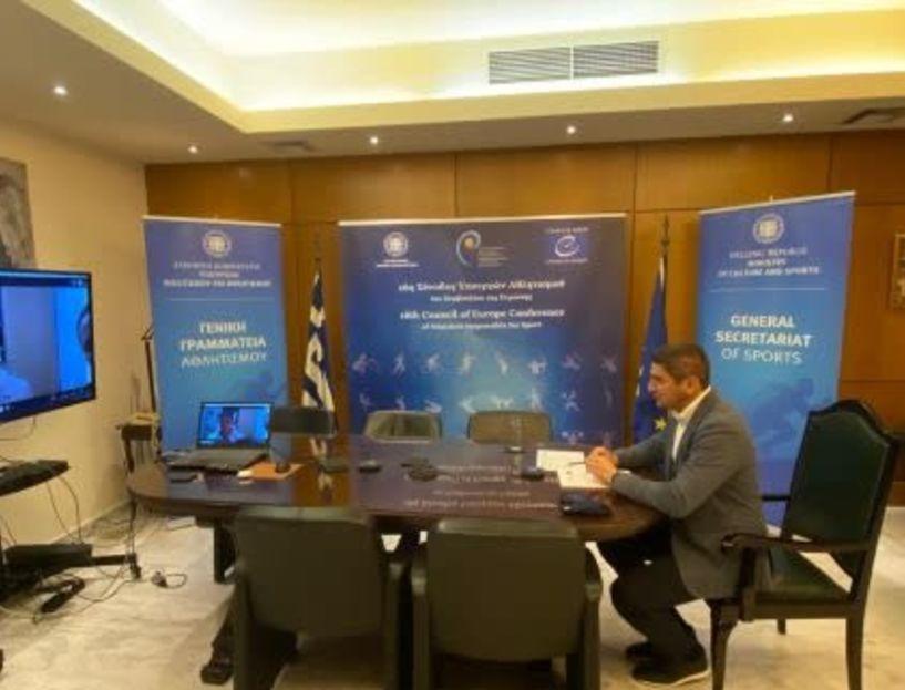 Λευτέρης  Αυγενάκης: «Οι ερασιτέχνες αθλητές είναι ειδική κατηγορία εργαζομένων»