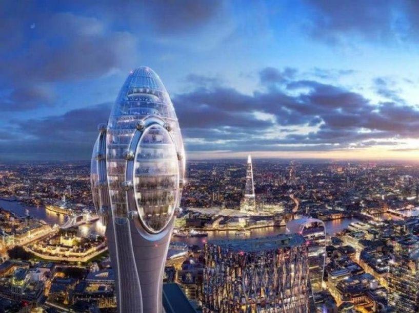 Γιατί ο νέος ουρανοξύστης του Λονδίνου μπορεί να «σβήσει» τα ραντάρ του αεροδρομίου