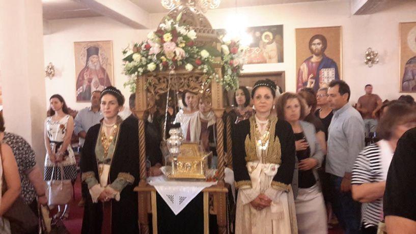 Το Λύκειο των Ελληνίδων στον Ιερό Ναό του Αγίου Λουκά στη Δοβρά